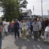 横内地区合同防災訓練(9月28日)