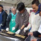 横内市民センターまつりでの留学生の異文化交流 (11月2日・3日)